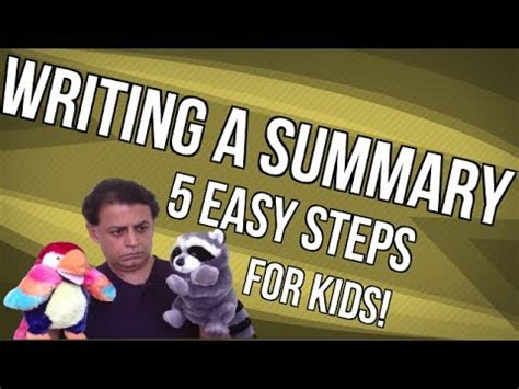 Writing summary essay