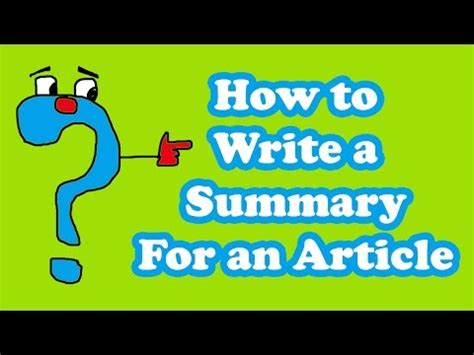 10 Summary Writing Examples and Samples PDF, DOC